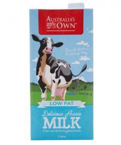 Sữa tươi Úc Australia's Own ít béo 1L