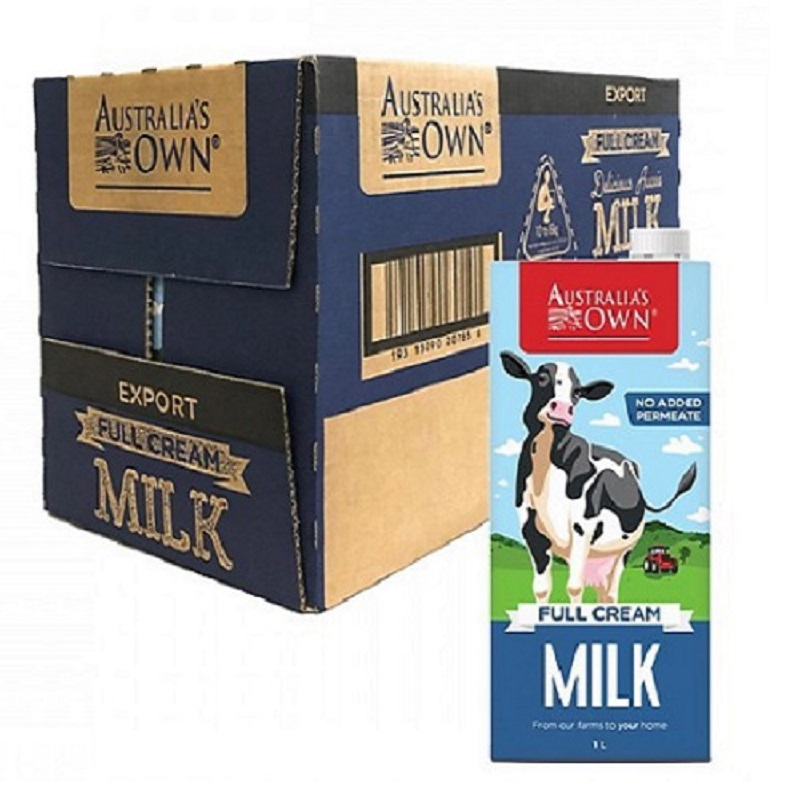 Sữa Australia Own Full Cream nguyên kem hộp 1 lít