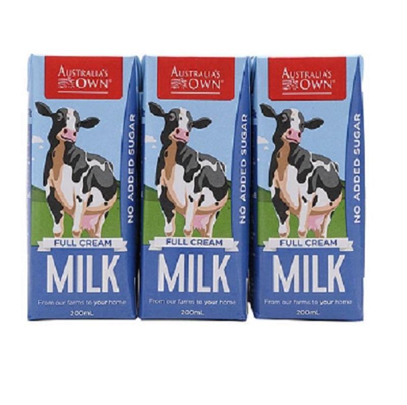 Sữa Australia Own Full Cream nguyên kem