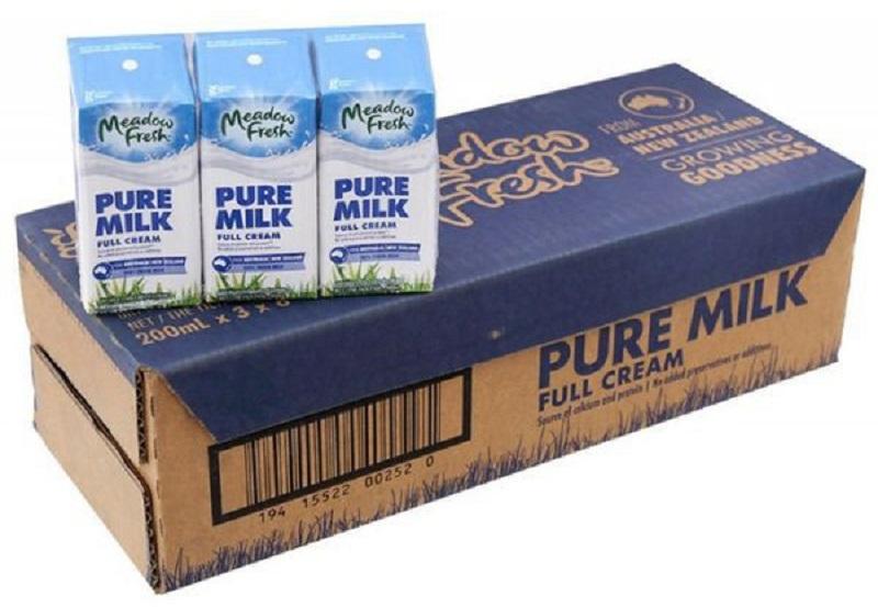 Sữa Meadow Fresh Pure Milk Nguyên Kem 200ml