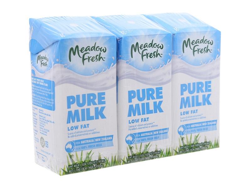 sữa tươi Meadow Fresh Low Fat ít béo