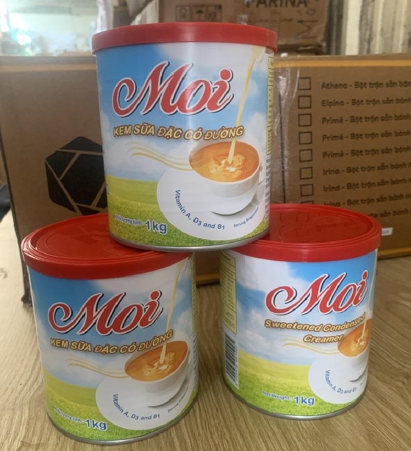 Sữa đặc có đường Moi nhập khẩu Malaysia Hôp 1kg