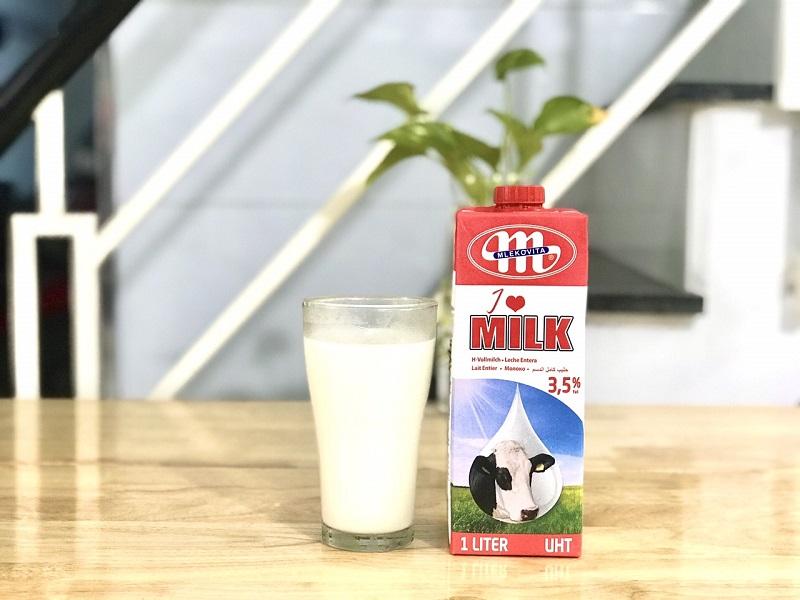Sữa tươi Ba Lan