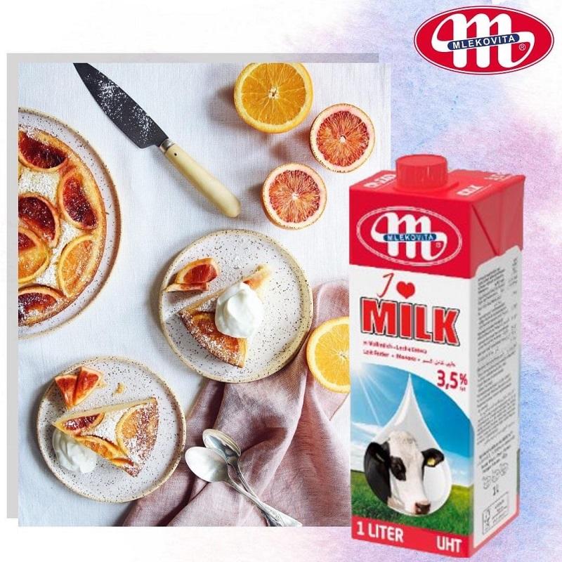 Những công dụng nổi bật của sữa tươi không đường Mlekovita I Love Milk