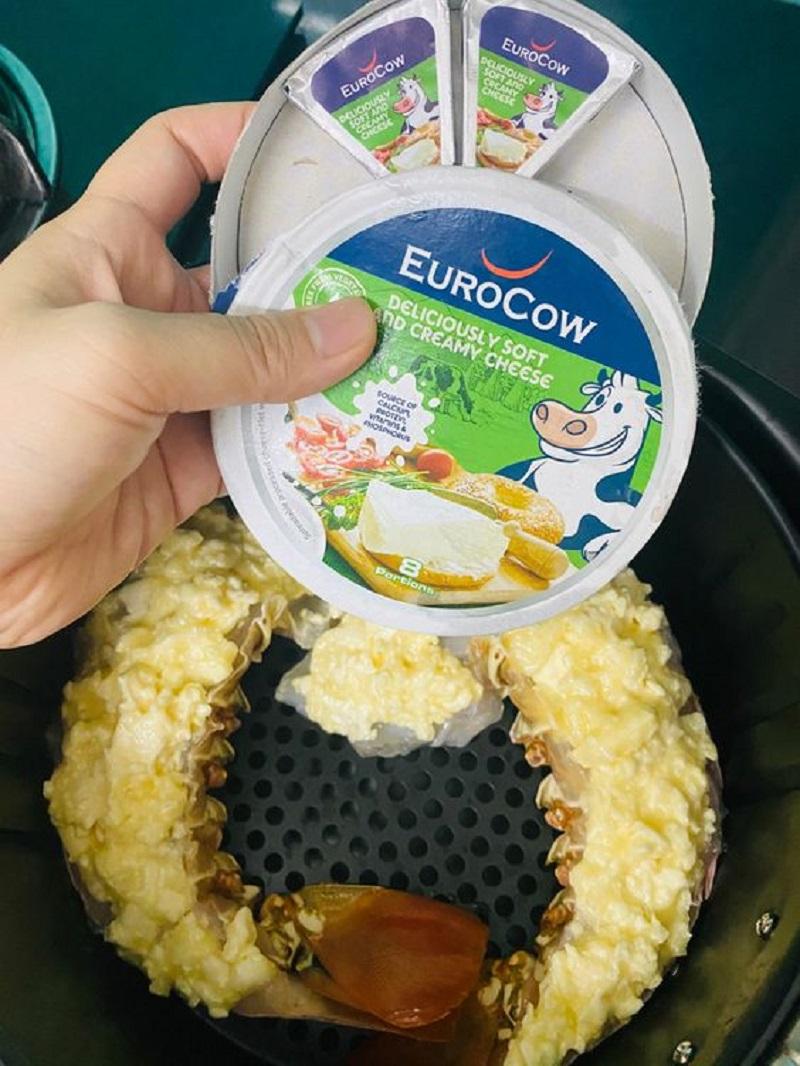 tôm nướng phô mai EuroCow