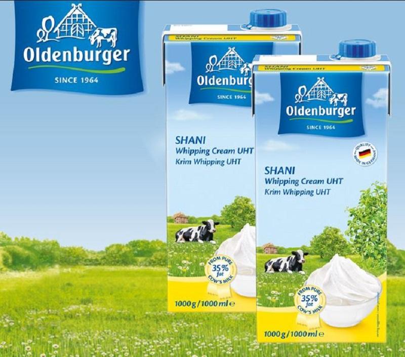 Sữa tươi oldenburger