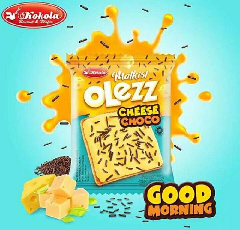 Bánh quy giòn Kokola Malkist Olezz Cheese Choco gói 10g