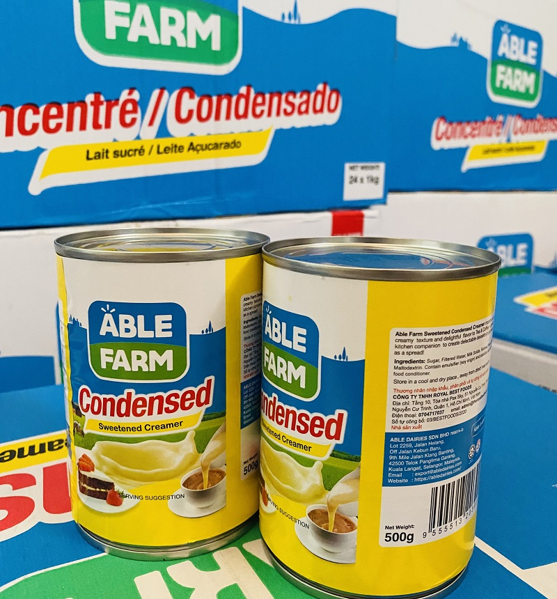 sữa able farm 500g